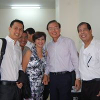 from Left-Our Chairman of emeritus, treasurer, president and founder